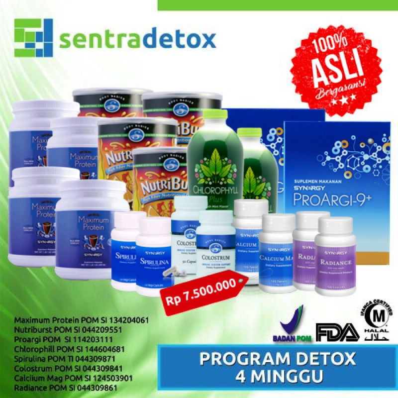 Premium Detox 4 Minggu